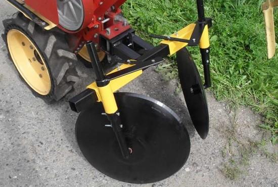 Изготовление дискового окучника для мотоблока
