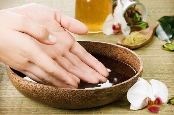 ванночка для очищения рук после сада