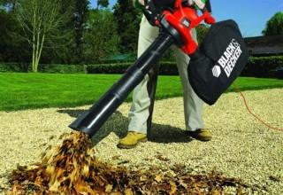 садовый пылесос-воздуходувка