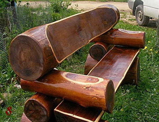 скамейка для сада фото