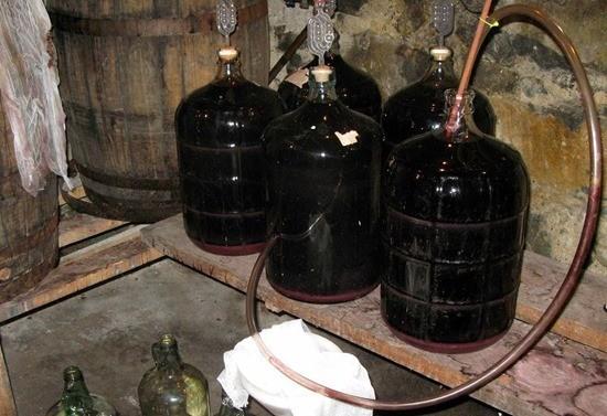 приготовления домашнего вина из винограда