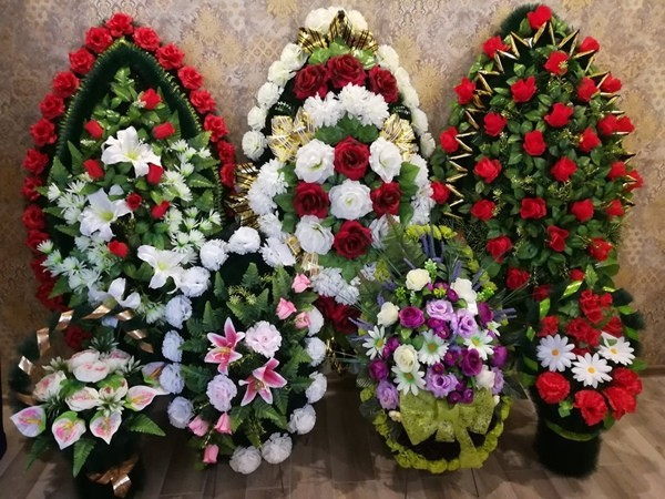 венки похоронные
